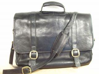 Lapop Leaher Shoulder Briefcase Cross Body Messenger Case Bag
