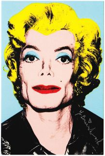 Mr Brainwash Michael Jackson Andy Warhol Marilyn Monroe Hair Show