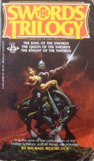MICHAEL MOORCOCK THE SWORDS TRILOGY PB Berkley (3 in 1) The King Queen