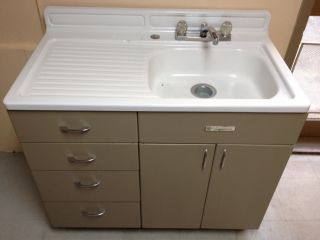 furniture kitchen sink fridge buffet huch dish washer wooden toy 5 set - Sink Cabinet Kitchen
