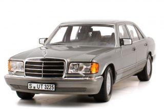 Norev Mercedes Benz 560 Sel Grey Euro 1 18 New Hard to Get