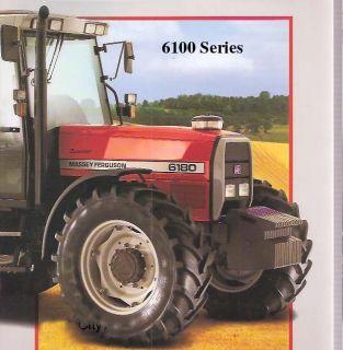 Massey Ferguson 6100 Tractor Service Operator Manual MF 6110 6120 6130