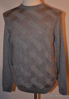 245 Hugo Boss Black Label Marston Gray Sweater Size M