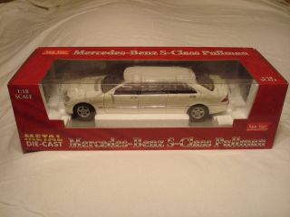 18th Scale Mercedes Benz s Class Pullman Limousine by Sun Star
