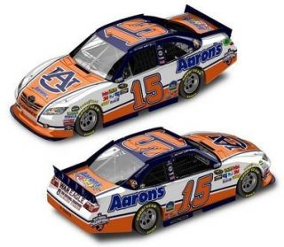 Michael Waltrip 2012 ACTION 164 #15 Aarons Auburn National Champions