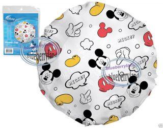 Disney Mickey Mouse Bath Shower Cap Bathroom Household Items Home