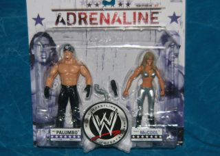 WWE Diva Michelle McCool Chuck Palumbo Adrenaline Series 31 Action