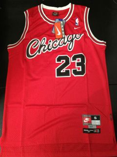 Chicago Bulls Michael Jordan Jersey Red NBA Retro Nike 1984