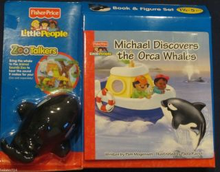 Michael Discovers the Orca Whales Little People Zoo Talkers Book