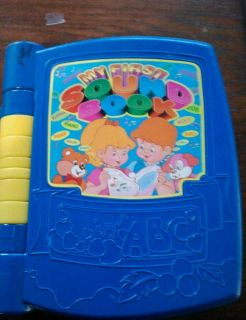 My First Sound Book musical sound word interactive book home daycare