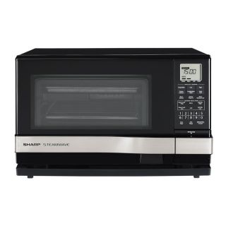 Sharp Steamwave AX 1100S Microwave oven with grill freestanding 1 cu