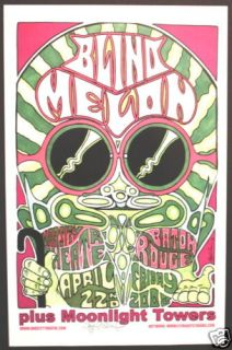 Blind Melon 2008 Jay Michael Concert Poster Collectible