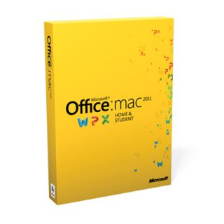 Microsoft Office for Mac Home and Student 2011 Open Box W7F 00014