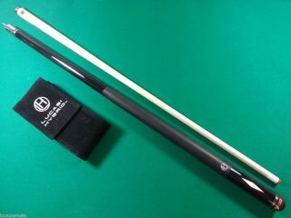 New Lucasi Hybrid Custom Midnight Black Pool Cue Billiards Stick $389