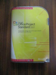Microsoft Office Project Standard 2007 Full Version