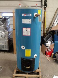 John Wood JWF 657 63 Gallon 138K BTU Center Flue Oil Commercial Water