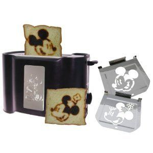 Ltd Edition Vintage Mickey Toaster in Retro Bread Box