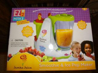 AWESOME NEW EZ 2 Make Jamba Juice Smoothie & Ice Pop Maker + RECIPE
