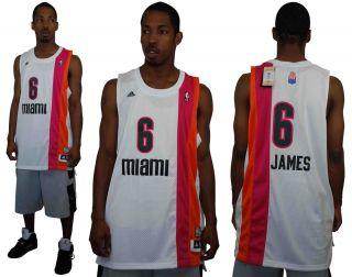 LEBRON JAMES MIAMI HEAT FLORIDIANS REV 30 SWINGMAN NBA JERSEY NEW NWT