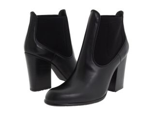 Auth Stuart Weitzman Held Black Butter Calf Leather Ankle Boots New