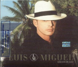 Luis Miguel Edicion de Lujo SEALED CD New 2011 Deluxe