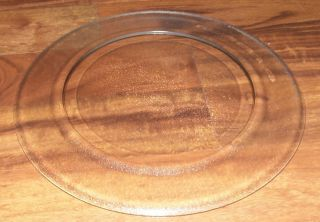 11 1/2 Sharp Round Glass Microwave Oven Turntable Plate Tray # NTNT