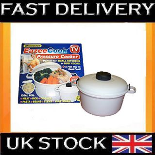 Microwave Pressure Cooker Steamer Vegetable Rice BNIB