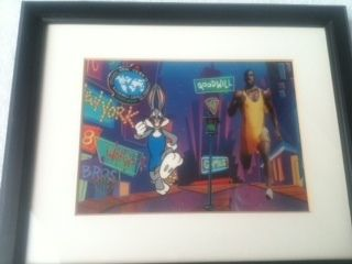 Cel Dead Heat 1998 Bugs Bunny and Michael Johnson 419 950