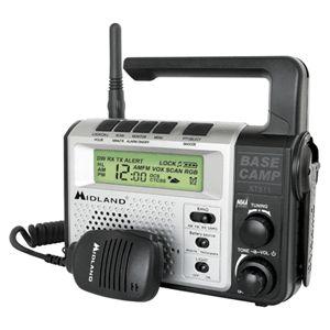 Way Base Camp Radio Emergency Crank Power Weather Alert Radio