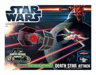 Micro Scalextric Death Star Attack Star Wars Pursuit Set G1084
