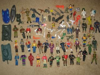 Military Action Figure Vintage Fisher Price Adventure Mixed Lot 30