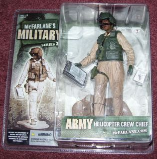 McFarlane Military Series 3 Helicopter Crew Chief