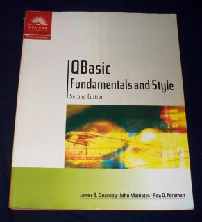 Fundamentals & Style with Introduction to Microsoft Visual Basic 2001