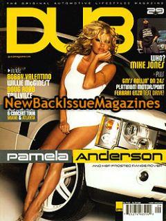 Dub 12 05 Pamela Anderson Mike Jones December 2005 New