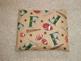 Football Flannel Microwave Hot Cold Corn Heating Pad