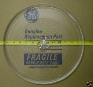 WB49X10129 New GE Microwave Turntable Glass Tray
