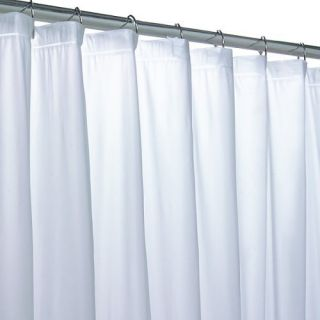 Vinyl Shower Curtain Liner Mildew Resistant All Colors