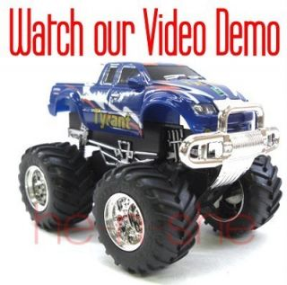 43 Mini RC Radio Remote Control Pickup Monster Truck 9101 6 2008B6
