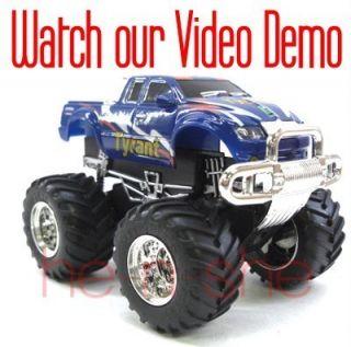 43 Mini RC Radio Remote Control Pickup Monster Truck 9101 6 2008B6