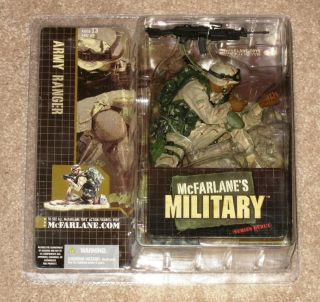 New McFarlane Military Series 1 Army Ranger African American Variant