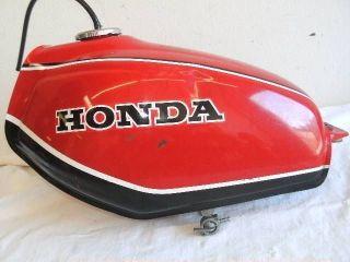 1981 Honda XL 250S Fuel Tank Cap ck XL250S 250 Gas Tank Petrol