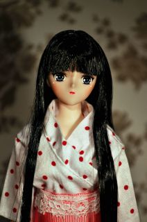 Miko chan Full OOAK 1 6 Custom doll obitsu 27 soft bust body azone