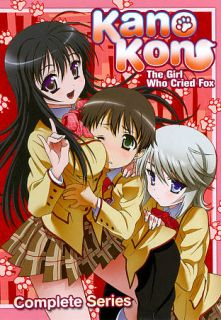 Kanokon The Girl Who Cried Fox   Complete Series DVD, 2011, 3 Disc Set