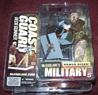 McFarlane Military Series 5 Coast Guard Deck Gunner