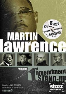 Martin Lawrence Presents 1st Amendment Stand up   Season 3 DVD, 2009