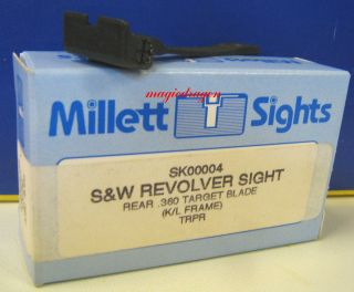 Millett Smith Wesson K L Frame Adj Rear Sight