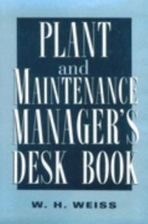 Plant and Maintenance Managers Desk Boo