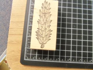 Rubber Stamp Milltown Obsessions Large Pine Cone Nature Outdoors Tree