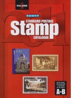 Scott 2011 Standard Postage Stamp Catalogue Vol. 1 United States