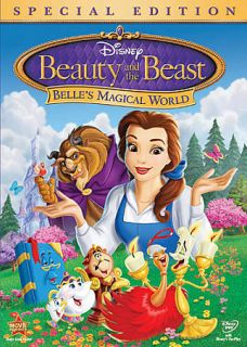 Beauty and the Beast Belles Magical World DVD, 2011, Special Edition